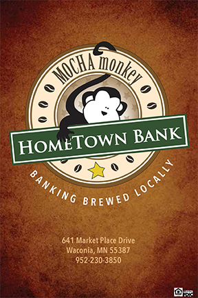 Mocha Monkey & HomeTown Bank